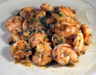 Shrimp with Gazpacho Sauce
