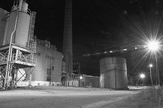 Midnight Behind the Factory | by bitzcelt