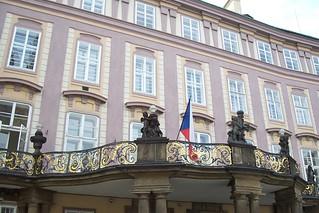Czech Presidential Address Location
