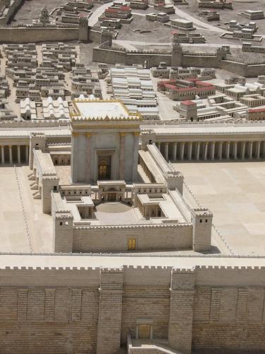 Herod's Temple on Jerusalem model_1358 | by hoyasmeg