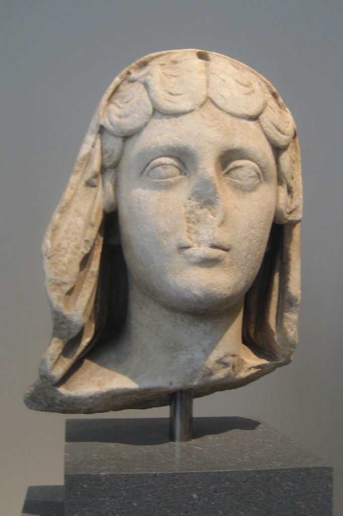 Nyc Metropolitan Museum Of Art Bust Of Faustina The You