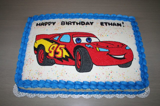 Miraculous Lighting Mcqueen Cake Please Let Me Know What You Think Of Flickr Funny Birthday Cards Online Ioscodamsfinfo