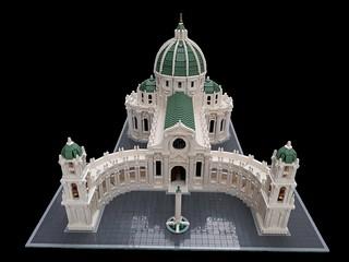 Baroque Cathedral   by bricksandtiles