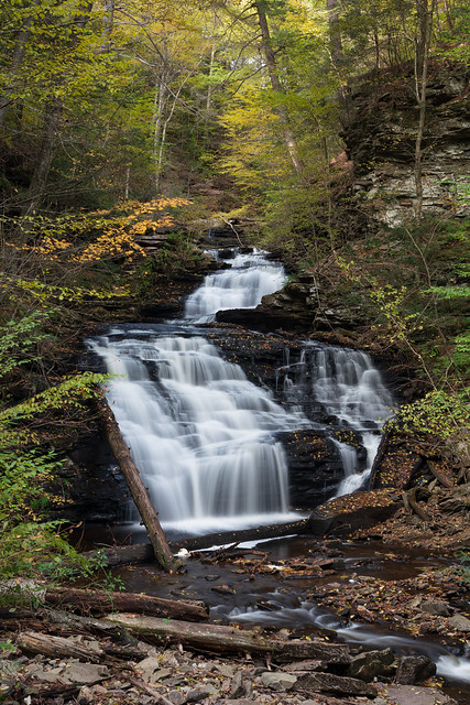 Mohican Falls in Autumn