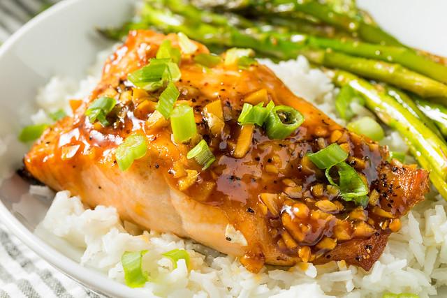 Homemade Baked Teriyaki Salmon