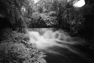 Waterfall with Infrared film | by tanapatr