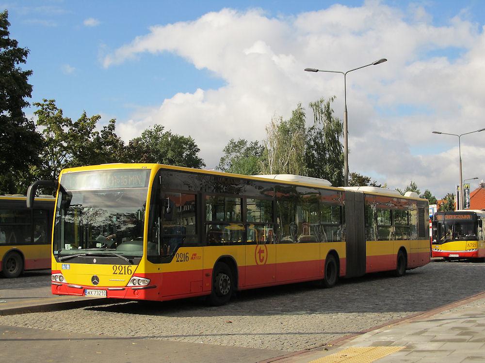 Mercedes Conecto LF G, #2216, MZA Warszawa