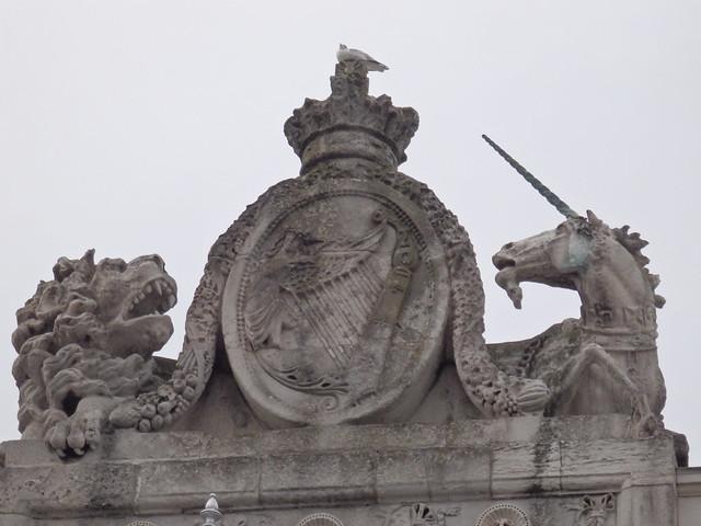 Heraldic motif, The Custom House