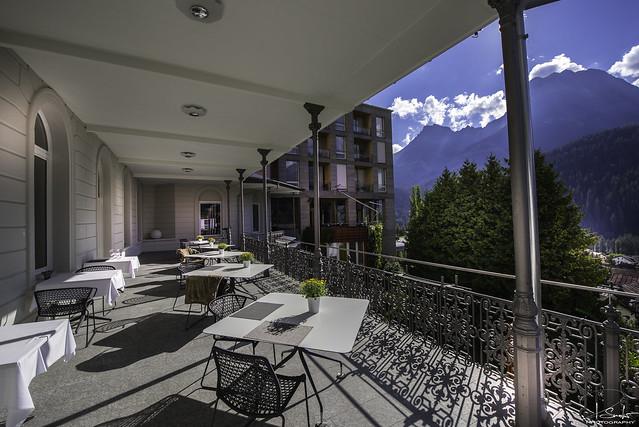 Terrace Hotel Belvédère - Scuol - Graubünden - Switzerland