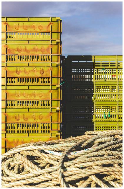 Fishing Crates, Lochinver