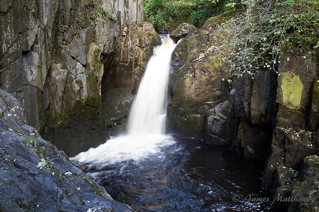 Hollybush Spout waterfall, Ingleton Waterfalls