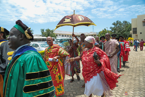 Traditional leaders part of the procession