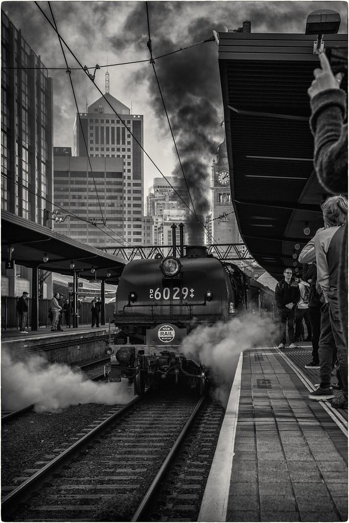 Steam Train at Central