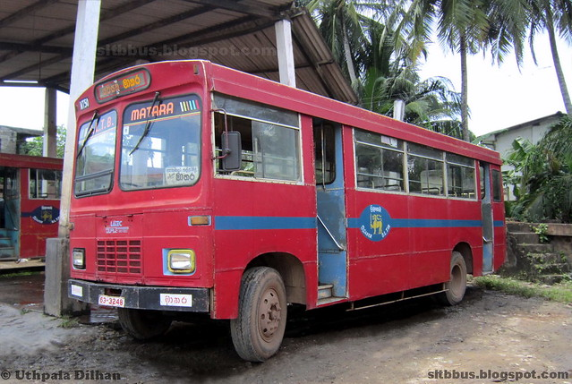 Latec TATA LP 1510/52 bus from SLTB Matara depot
