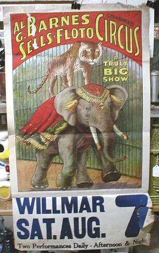 Old Circus Poster