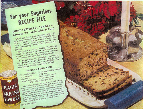 Vintage Ad #225 - For Your Sugarless Recipe File | by jbcurio