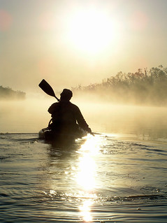 Sunrise Paddling on the North Canadian River | by FreeWine