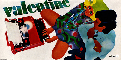 1960s Advertising - Poster - Olivetti Valentine 1 (Italy) | by ChowKaiDeng