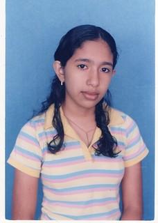 María Augusta de adolescente