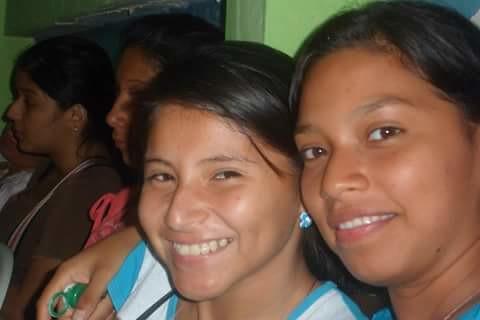 Anita con Mayra