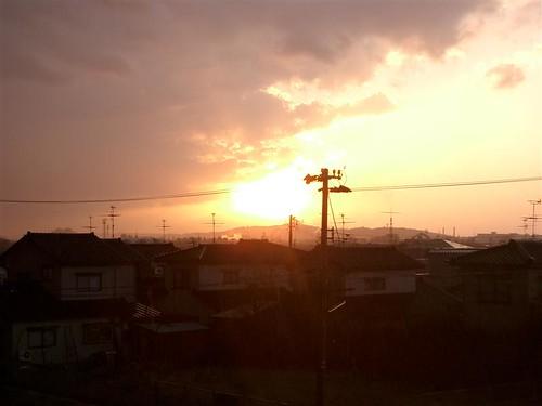 donyori sky toyama sunset japan