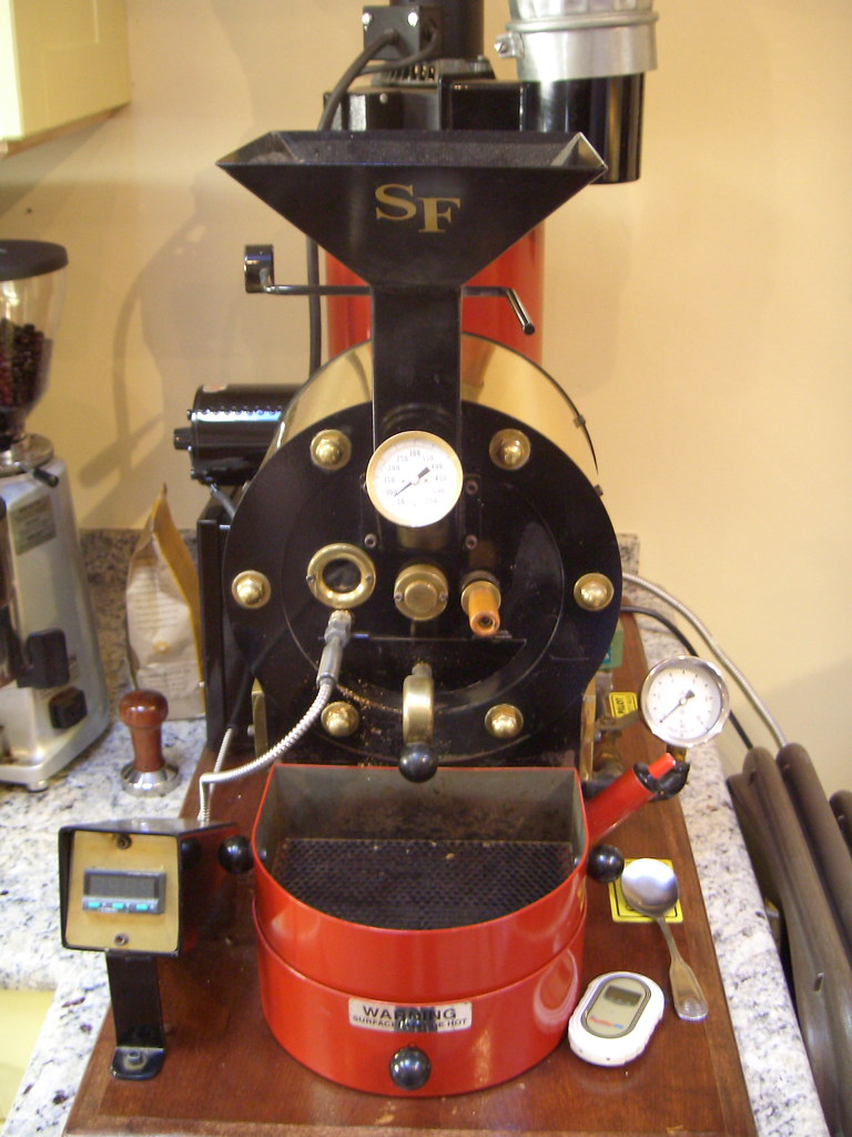 San Franciscan sample roaster | Willem Boot's tricked out ha… | Flickr