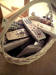 a remote for everything   by Alaina B.