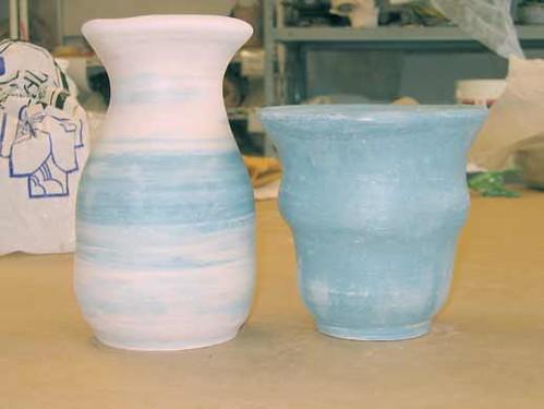 Terra Sig vases