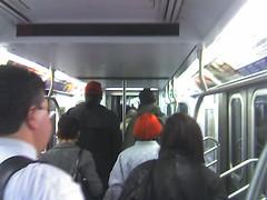 Subway evacuation