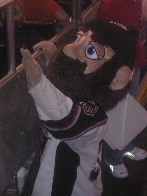 Jack, the Vancouver Giants' mascot
