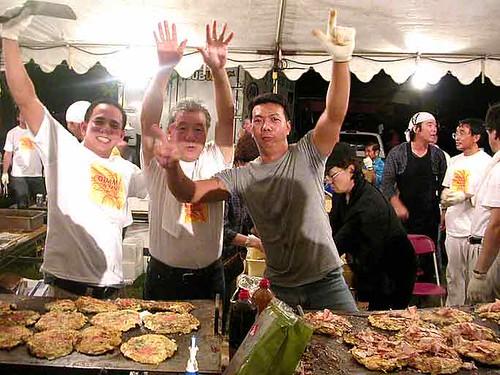 autumn festival okonomiyaki guys