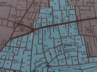 In Japan, most streets don't have names