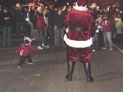 dancin with santa saxman