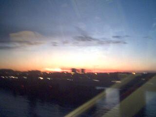 Yellow Line Sunset