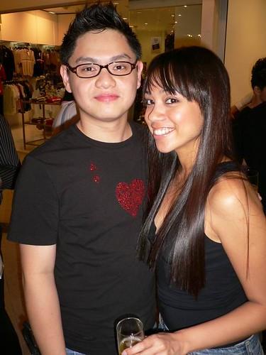 Me and Anna. Toni & Guy