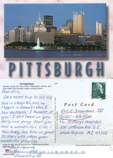 the postcard project: pittsburgh, pennsylvania. | by snowdeal