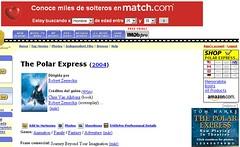 Publicidad en 'The Polar Express'
