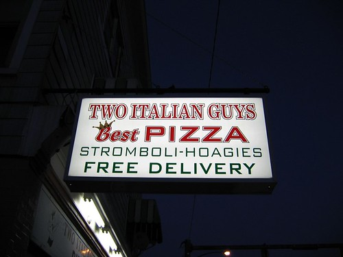 My favorite pizza joint