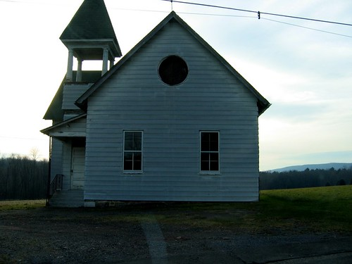 Old church, Route 93