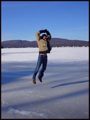 Sauter-sur-la-glace