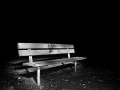 Flashlit Bench | by michaelroper