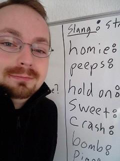 lesson on slang