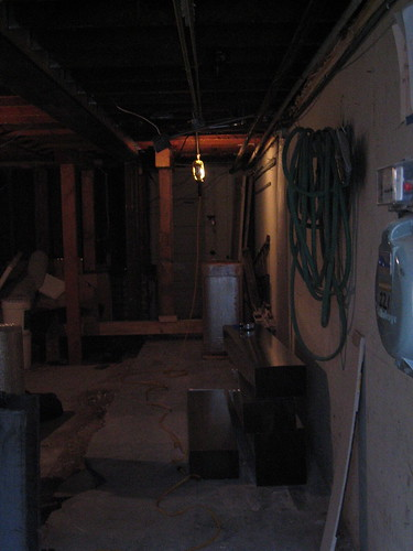 HVAC work in the basement | by Salim Virji