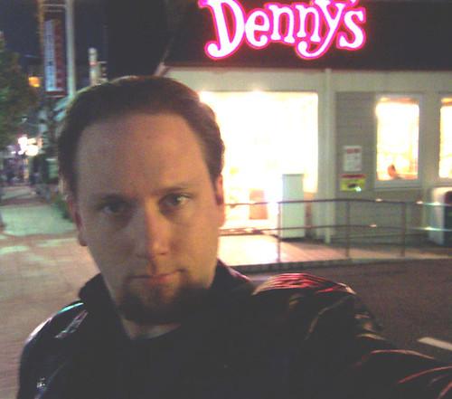 Me at Denny's