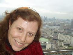 Valerie in London Eye