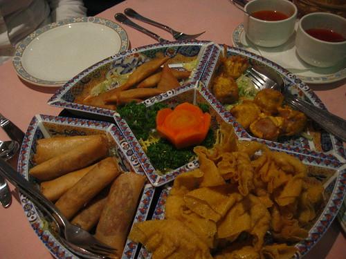 Chinese restaurant - deep fried dumplings