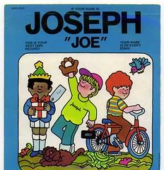 "Captain Kangaroo Name Record ""Joseph"" Front Cover   by Joe Crawford (artlung)"