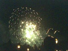Disney Xmas fireworks