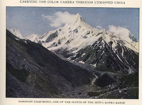 Mt Chiburongi 1929