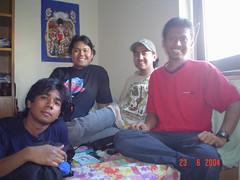 Bersama Faizal di Mannheim, Germany